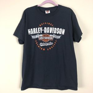 Harley Davidson Heart Of Dixie Graphic T-shirt